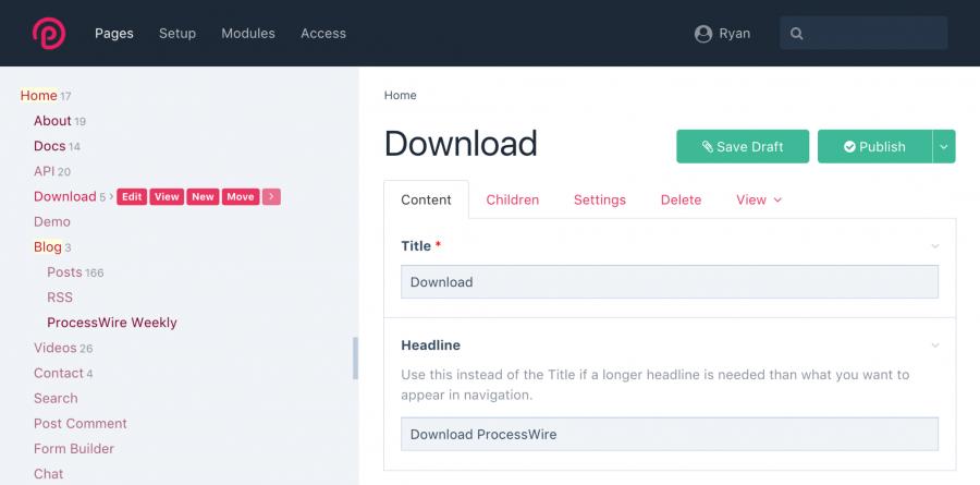 Uikit 3 admin theme updates