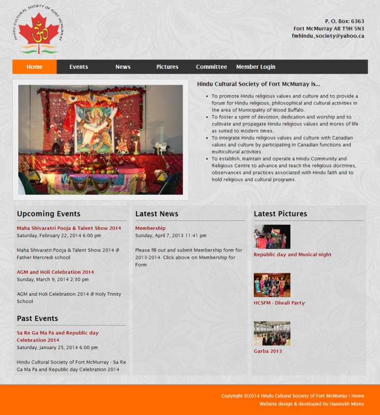 Hindu Cultural Society of Fort McMurray