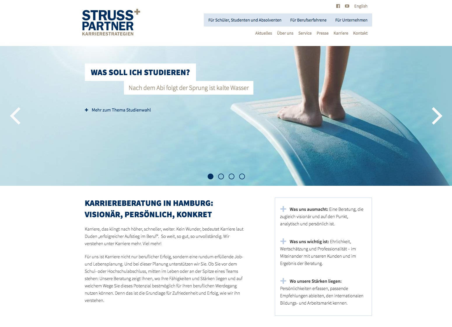 Struss und Partner Karrierestrategien