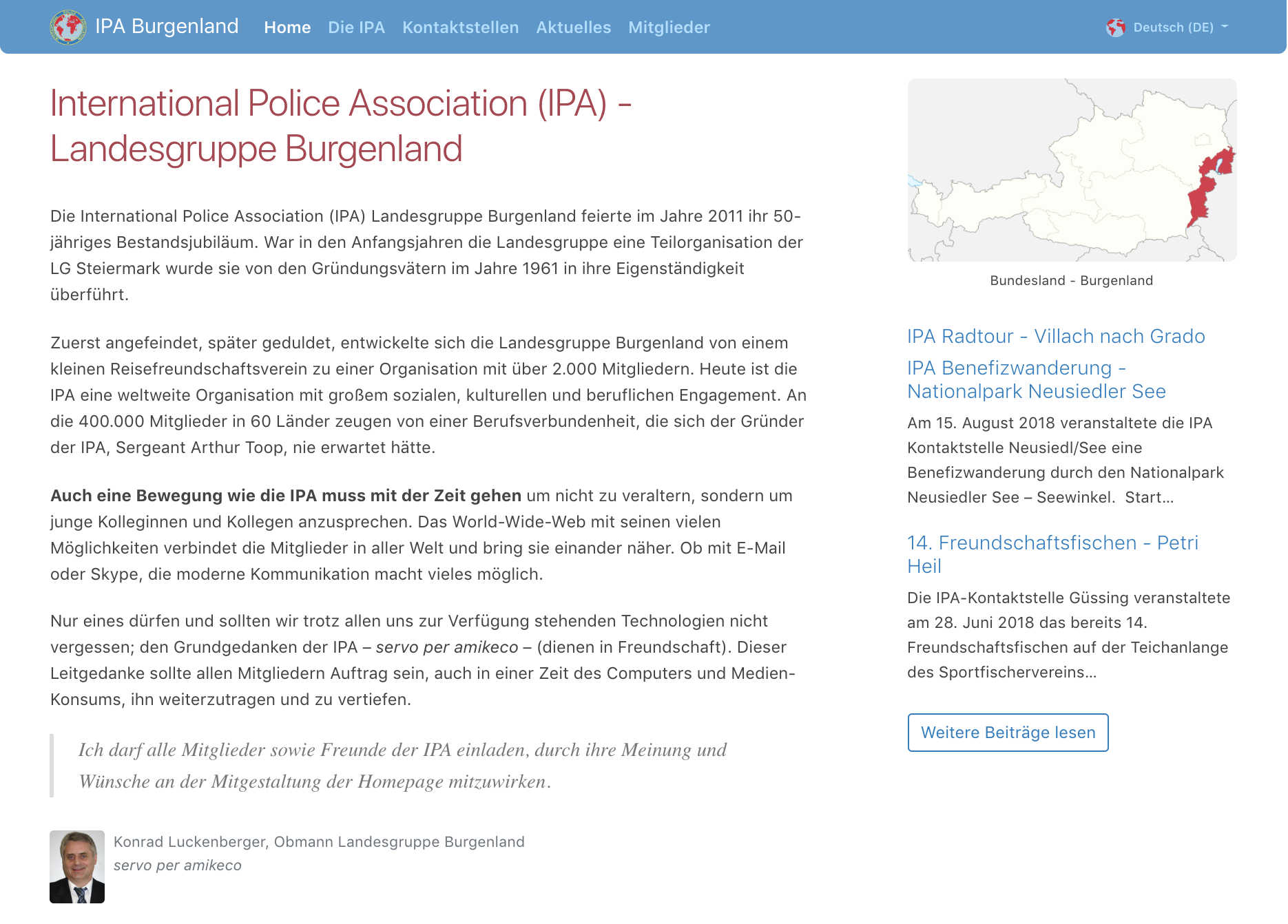 International Police Association Burgenland