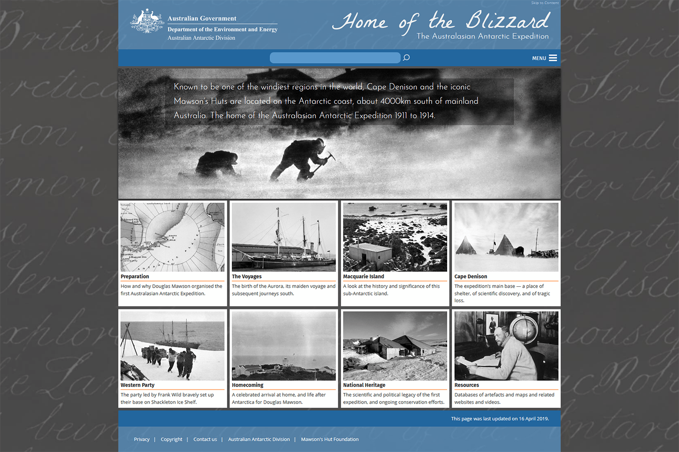 Home of the Blizzard - The Australasian Antarctic Expedition