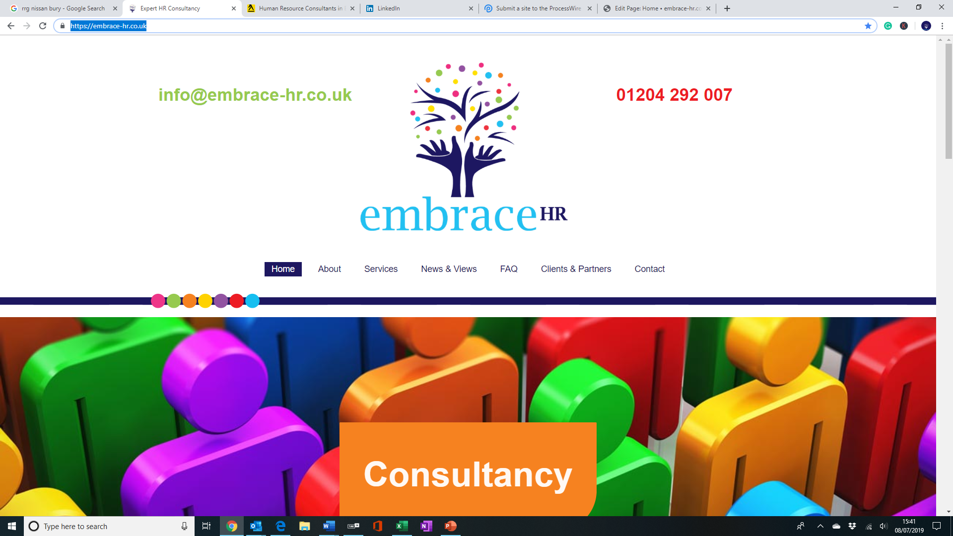 Embrace HR (Consultancy) Ltd